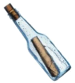 Message In Bottle Logo